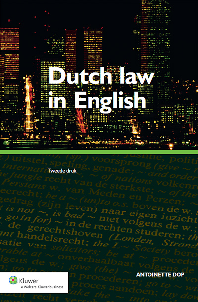 Dutch law in English