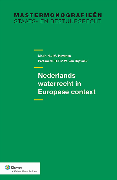 Nederlands waterrecht in Europese context