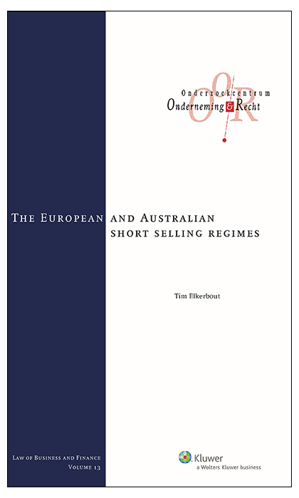 The European and Australian short selling regimes