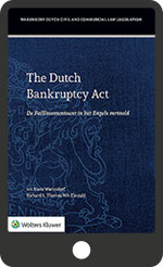 The Dutch Bankruptcy Act