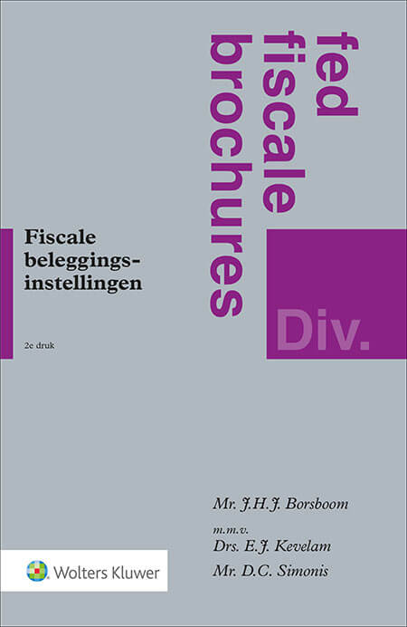 Fiscale beleggingsinstellingen