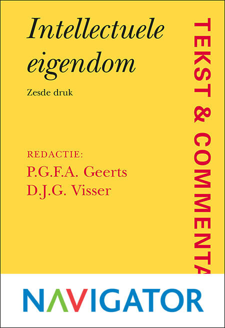 Tekst & Commentaar Intellectuele Eigendom