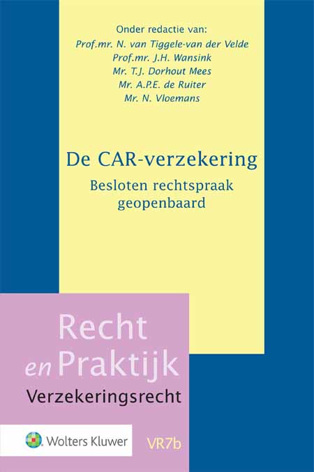 De CAR-verzekering.