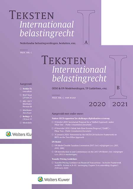 Teksten Internationaal belastingrecht 2020/2021