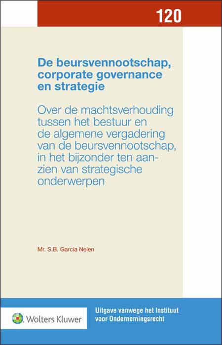 De beursvennootschap, corporate governance en strategie