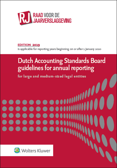 Dutch Accounting Standards Board guidelines for annual reporting