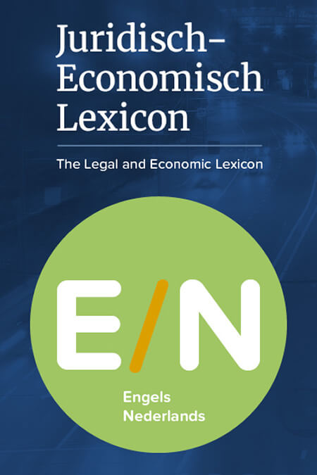 Juridisch-Economisch Lexicon EN-NL product photo