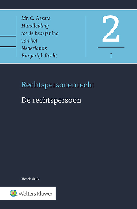Asser 2-I De rechtspersoon